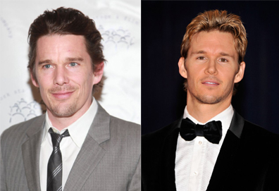 Ethan Hawke and Ryan Kwanten