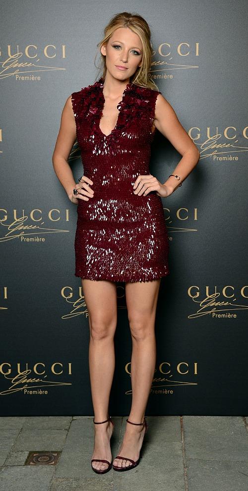 Blake Lively, Gucci, Venice Film Festival