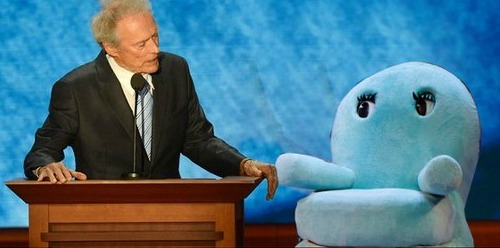 Clint Eastwood Empty Chair: Chairy