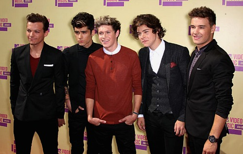 One Direction, 2012 MTV Video Music Awards