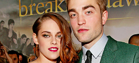 Kristen Stewart and Rob Pattinson at the Breaking Dawn Part 2 Premiere