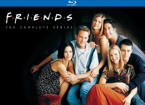 friends the complete series on blu-ray