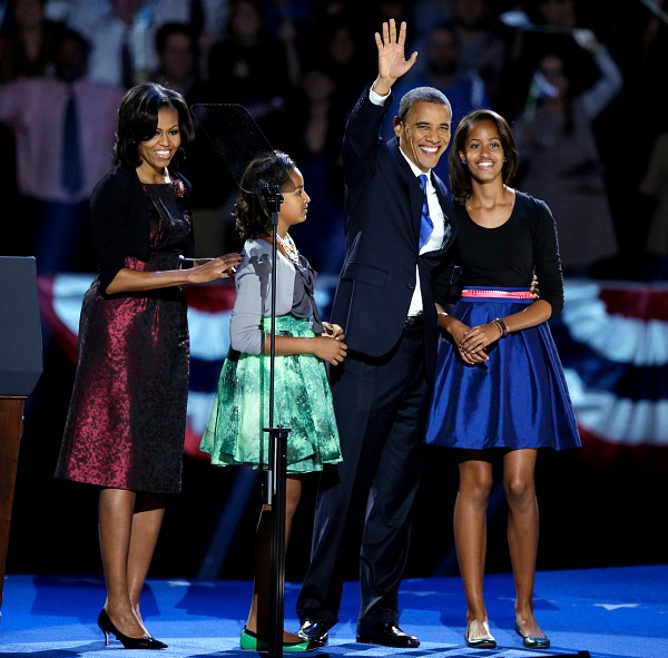 Michelle Obama style, election night 2012