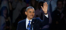 Obama Victory Speech 2012