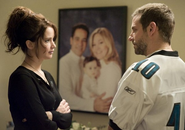 Silver Linings Playbook: Jennifer Lawrence and Bradley Cooper