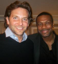 Bradley Cooper and Chris Tucker of Silver Linings Playbook | Brad Balfour
