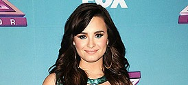 Demi Lovato at The X Factor Finale