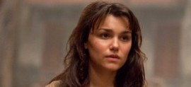 Samantha Barks as Epinone in Les Miserables