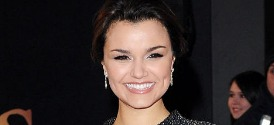 Samantha Barks at the London Premiere of Les Miserables