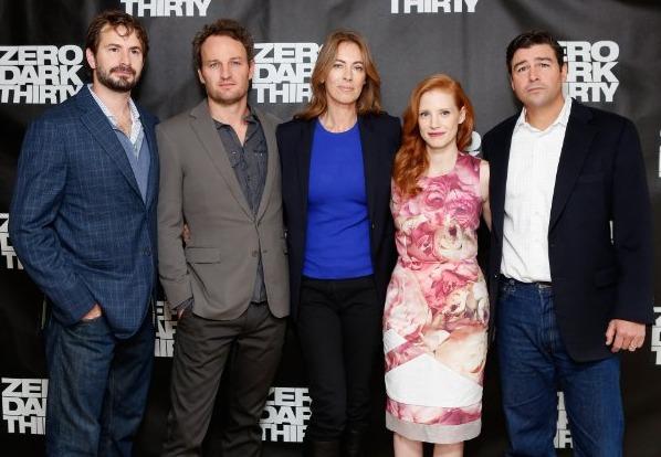 Kathryn Bigelow, Zero Dark Thirty Cast