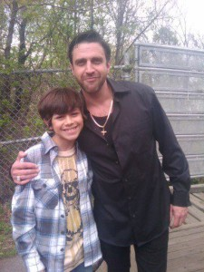 Cruz Santiago and Raul Esparza