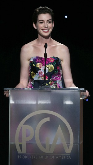 Anne Hathaway: Producers Guild Awards 2013