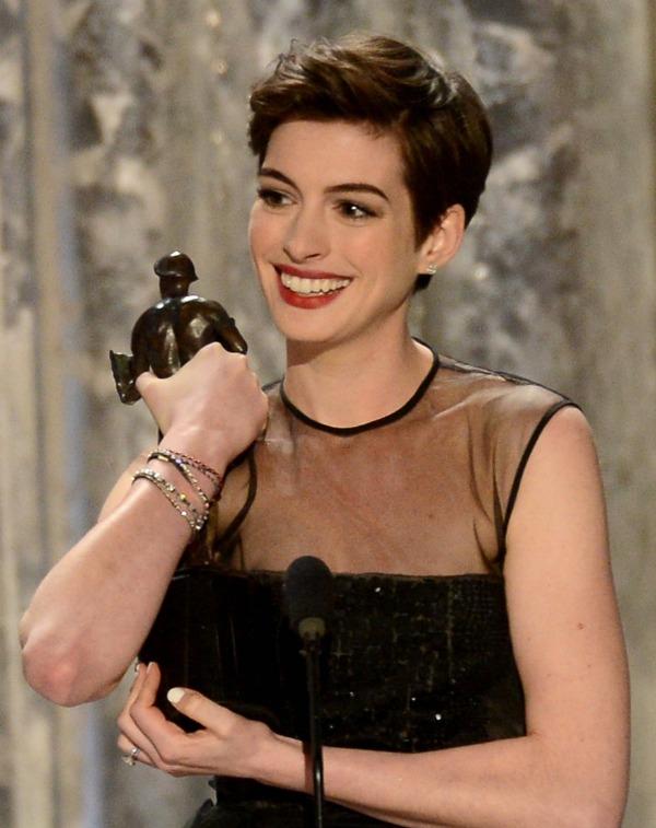 SAG Awards 2013: Anne Hathaway