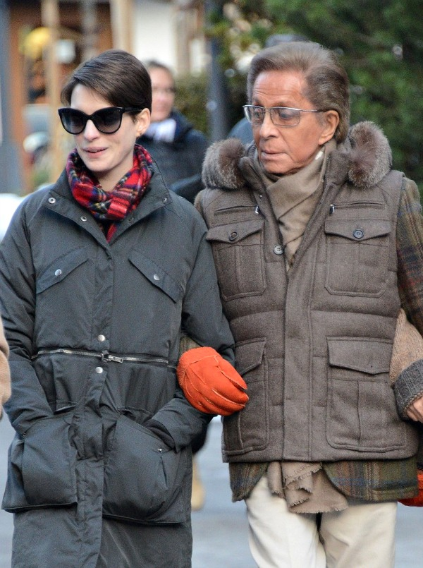 Anne Hathaway and Valentino