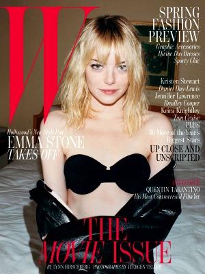 Emma Stone covers W Magazine