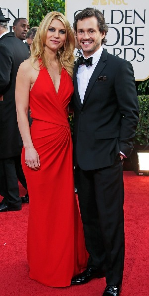 Claire Danes and Hugh Dancy at the 2013 Golden Globes