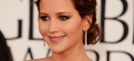 Jennifer Lawrence at the Golden Globes 2013