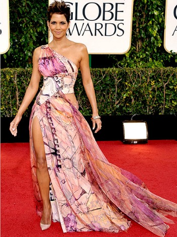 Halle Berry at the 2013 Golden Globes