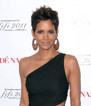 Halle Berry See-Through Dress
