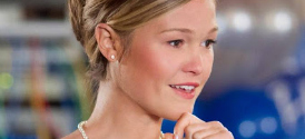 Julia Stiles in Hallmark's