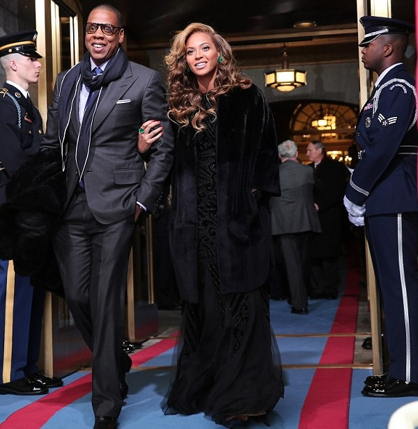 Presidential Inauguration 2013: Jay-Z and Beyonce