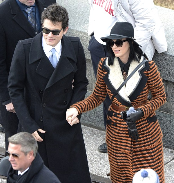 Presidential Inauguration 2013: John Mayer and Katy Perry