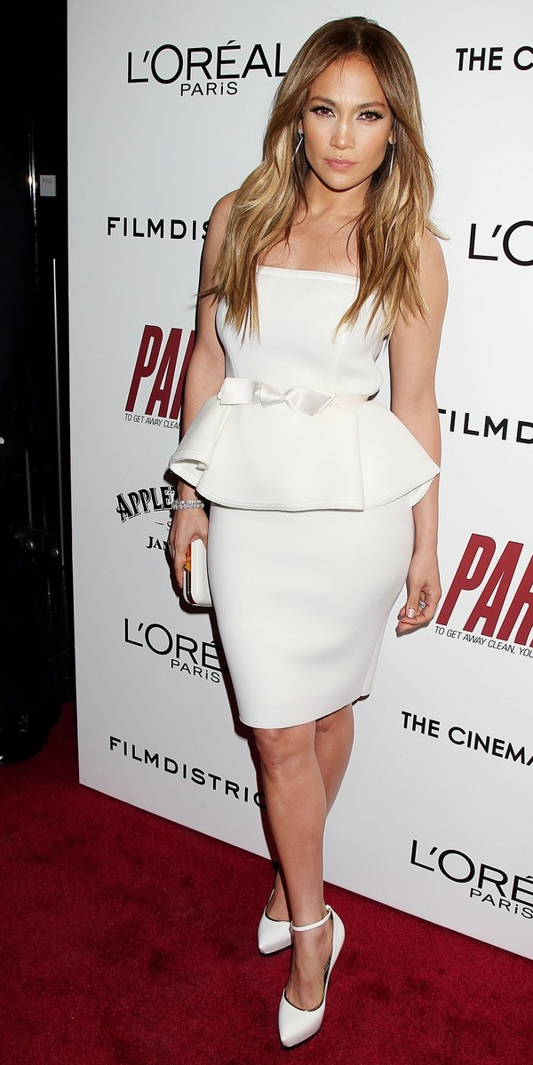 Jennifer Lopez at the NYC Premiere of Parker