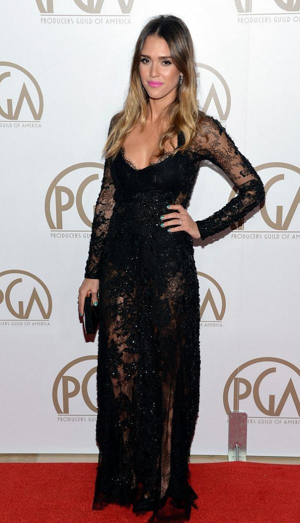 Producers Guild Awards 2013: Jessica Alba