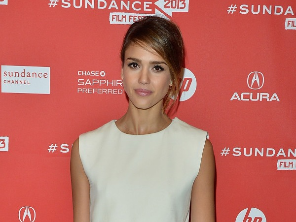 Jessica Alba at the A.C.O.D. Premiere at Sundance 2013