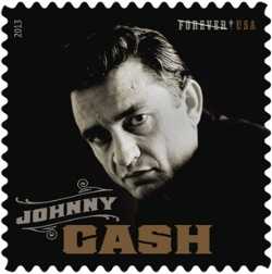 Johnny Cash gets a stamp