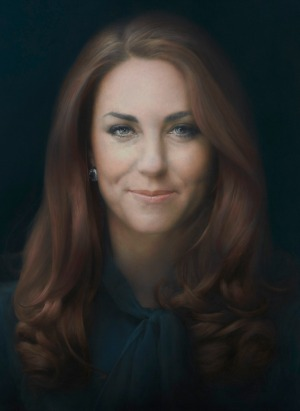 Kate Middleton first official portrait