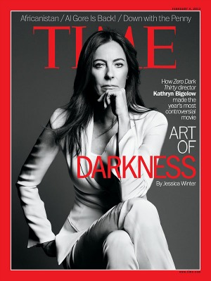 Kathryn Bigelow, Zero Dark Thirty on Time Magazine Cover