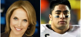 Katie Couric and Manti Te'o