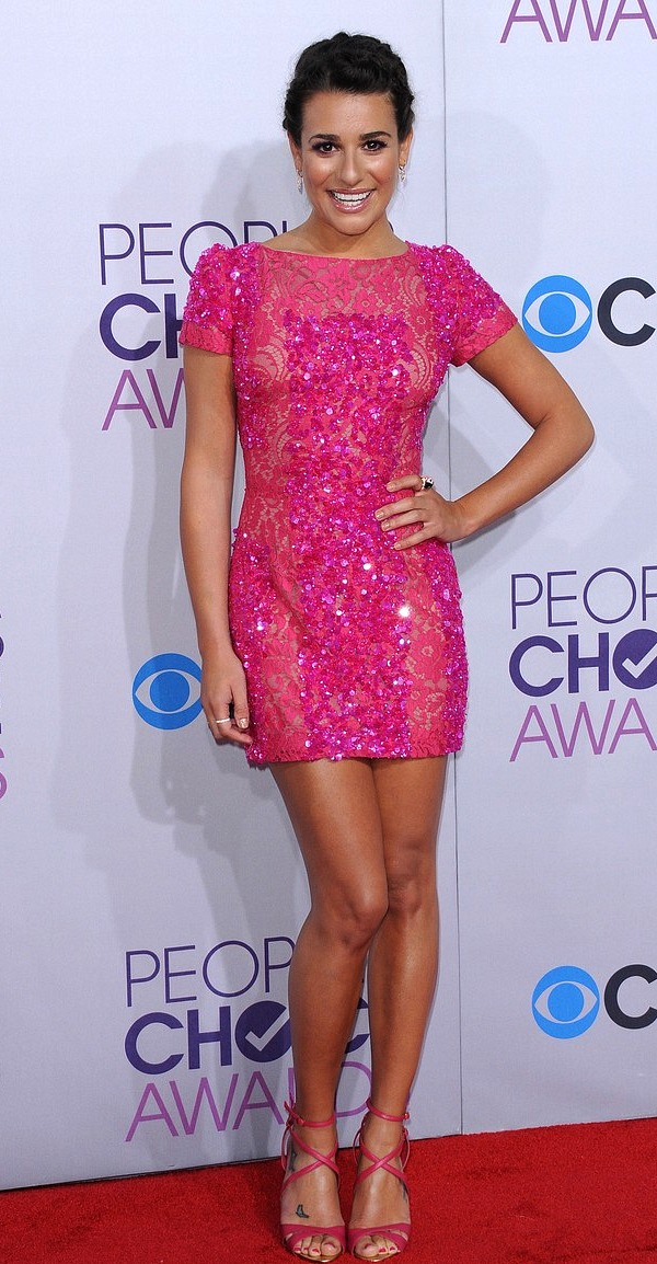 Lea Michele, People's Choice Awards 2013