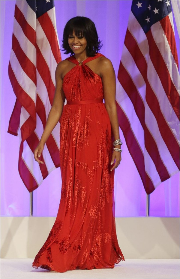 Inaugural Ball 2013: President Obama and First Lady Michelle Obama