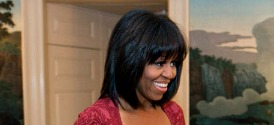 Michelle Obama's Birthday & New Bangs