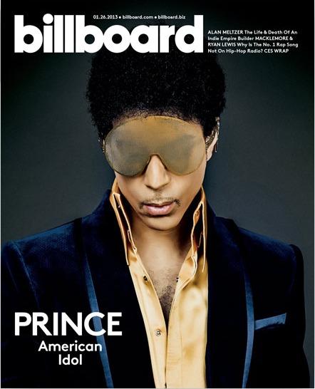 Prince on Billboard Magazine Cover