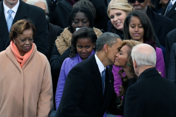Presidential Inauguration 2013: Sasha and Malia Obama