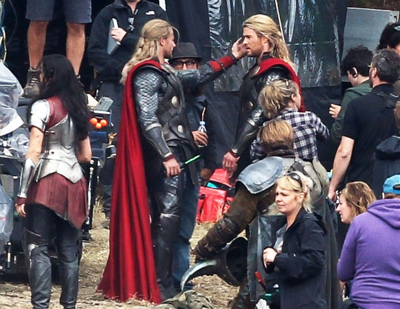 On the Set with Thor: The Dark World