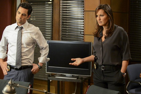 Law and Order Danny Pino and Mariska Hargitay NBCUniversal Media LLC