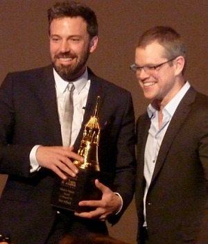 Santa Barbara Film Festival: Ben Affleck and Matt Damon