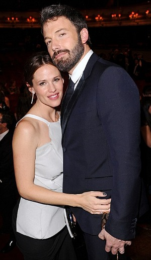 BAFTA 2013: Ben Affleck and Jennifer Garner