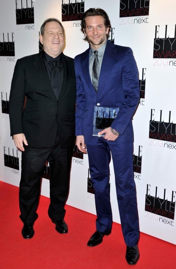 BAFTA 2013: Bradley Cooper, Harvey Weinstein