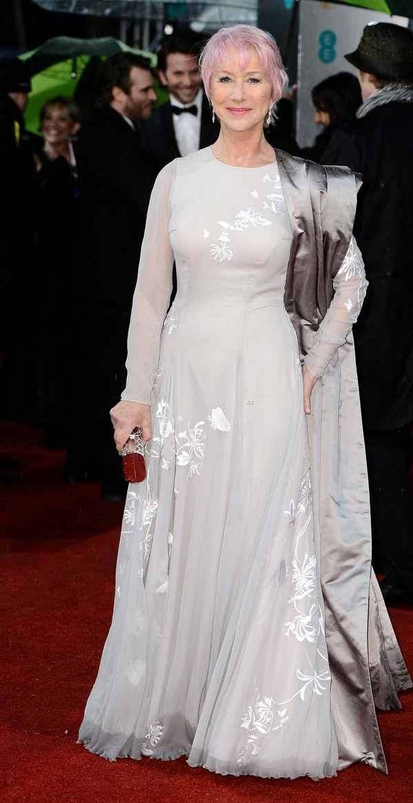 BAFTA Awards 2013: Helen Mirren's Pink Hair