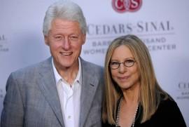 Bill Clinton and Barbra Streisand