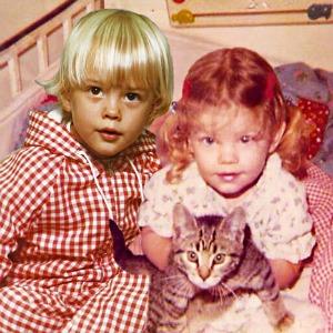 Josh Duhamel and Fergie Superimposed
