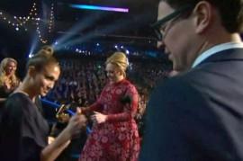 Grammy Awards 2013: Adele's Crasher