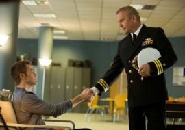 Kevin Costner and Chris Pine in Jack Ryan