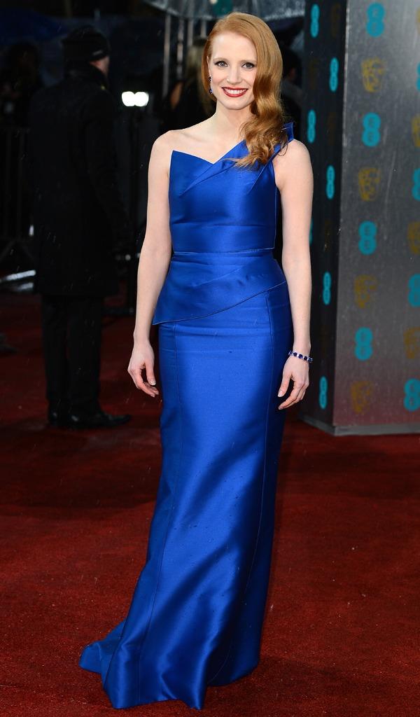BAFTA 2013: Jessica Chastain