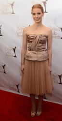 Jessica Chastain: Writers Guild Awards 2013